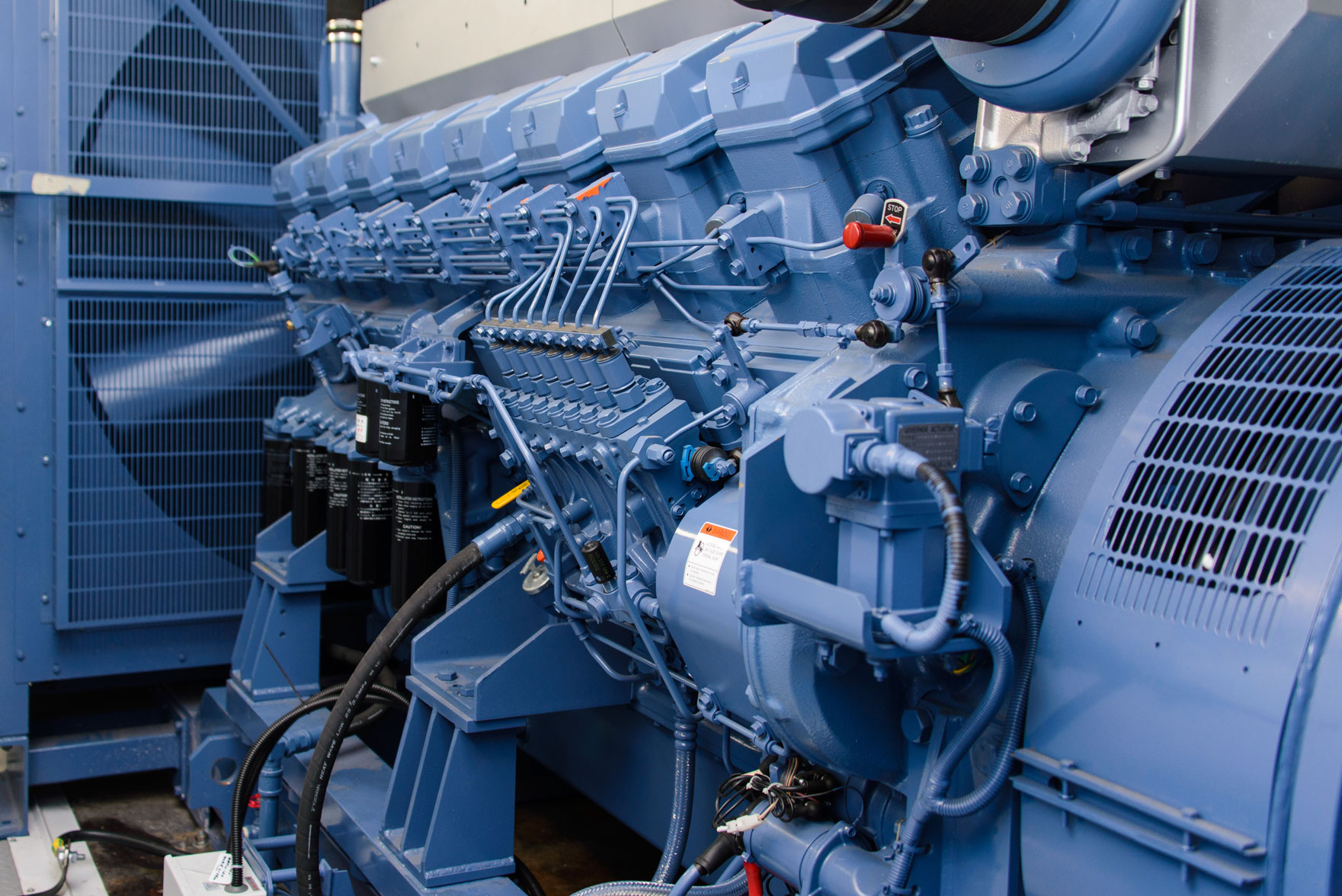 MT Energy Oil and Gas Diesel Power Generator